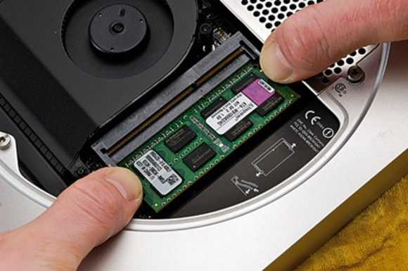 You don't need any tools to change the RAM on a Mac Mini