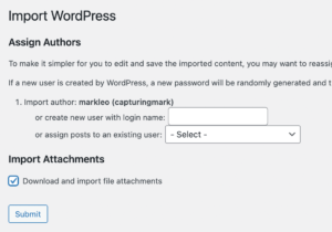 Importing Attachments with WordPress