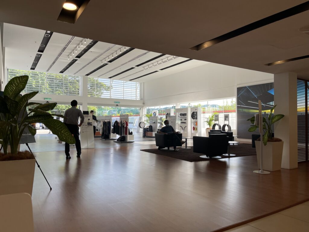 BMW Quill Automobiles Service Centre lounge